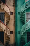 2 spiral staircases to choose between in your two loves